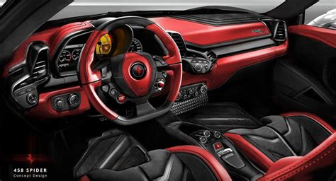 458 Spider Interior by Carlex Design Ready To Mutate The Interior Of This 458 Spider