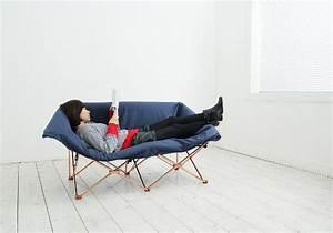sofa kamp canape pliable par kamkam goodobject blog With canape pliable