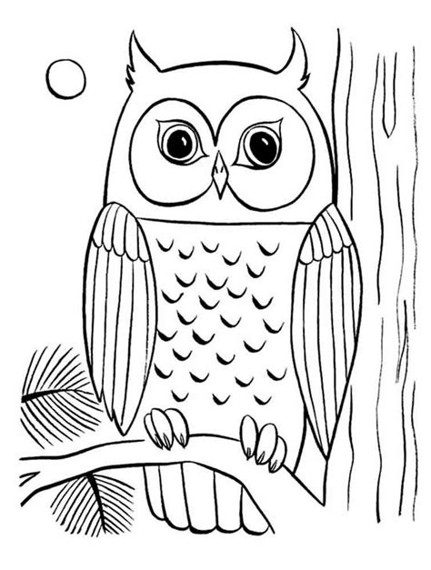 owl coloring pages art  gianfredanet