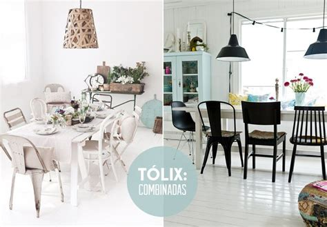 sillas tolix hogar  decoracion comedores comedores