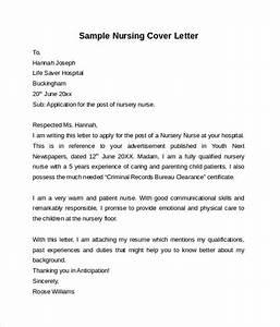 nursing cover letter template 9 free samples examples With nursing cover letter samples free