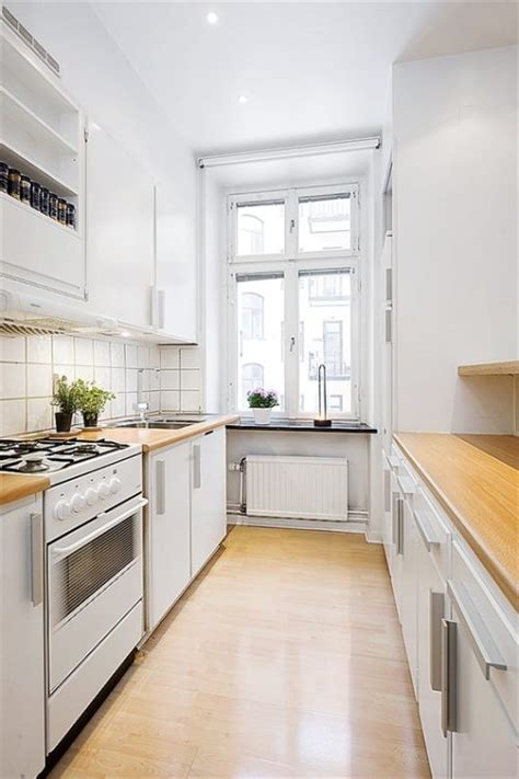 kitchen ideas for apartments apartment galley kitchen decorating ideas afreakatheart