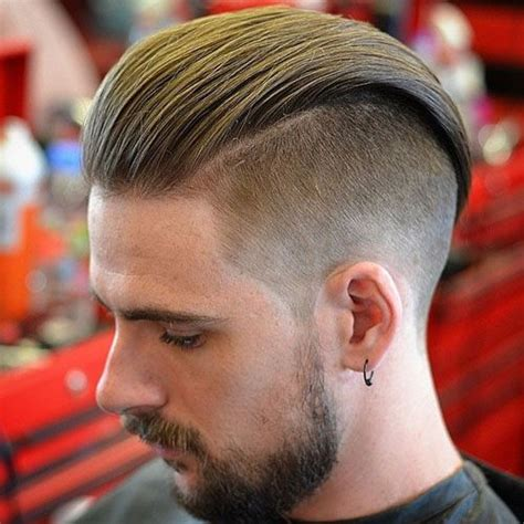 slicked  undercut hairstyles  guide