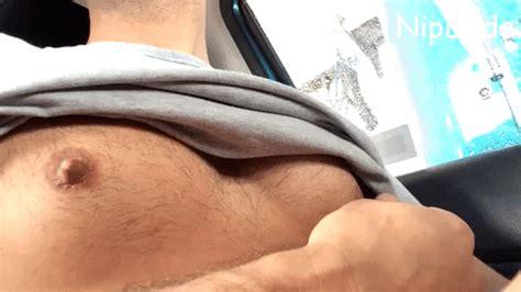 Male Nipple Play Masturbation