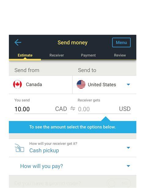 Western Union Canada Transfer Money From