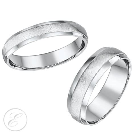 15 inspirations of matching wedding bands sets for his and