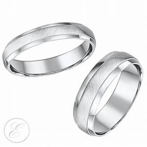 15 inspirations of matching wedding bands sets for his and her With his and hers matching wedding ring sets