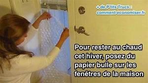 Isoler Fenetre Froid : ne jetez plus jamais le papier bulle vous pourriez ~ Premium-room.com Idées de Décoration