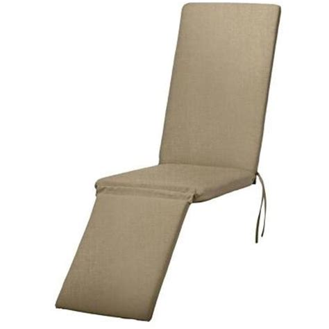 Steamer Chair Cushions Sunbrella by Home Decorators Collection Beige Sunbrella Outdoor