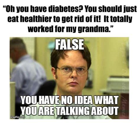 Diabetes Memes - 100 false every t1d has heard this a million times type 1 diabetes mason