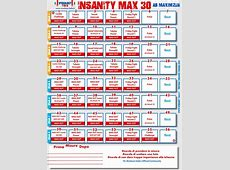 Insanity Max 30 Ab Maximizer Workout Calendar – EOUA Blog