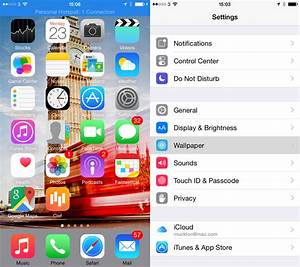 How to add a custom wallpaper to your iPhone 6