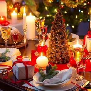 Table de Noël : 22 Idées de Décoration de Table de Noël