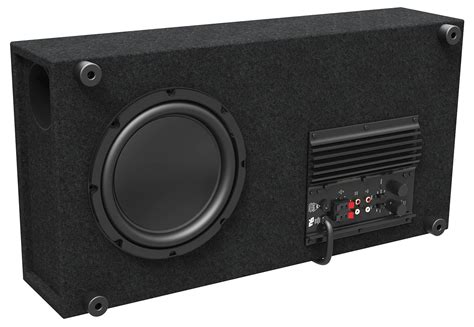 "Ctdsub8 8"" Low Profile Home Theater Powered Subwoofer"