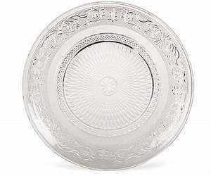 Vaisselle En Verre : mod le assiette creuse verre transparent vaisselle maison ~ Teatrodelosmanantiales.com Idées de Décoration