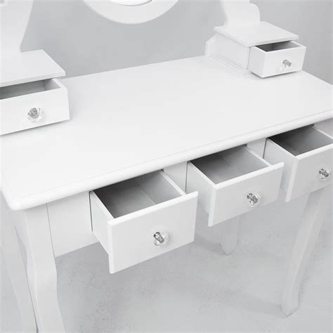 bedroom desk with drawers nishano dressing table drawer stool mirror bedroom makeup