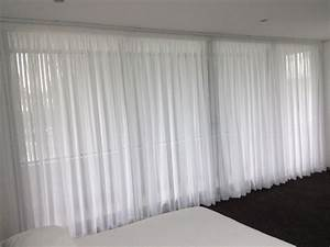 Pleat Box Light Sheer Curtains