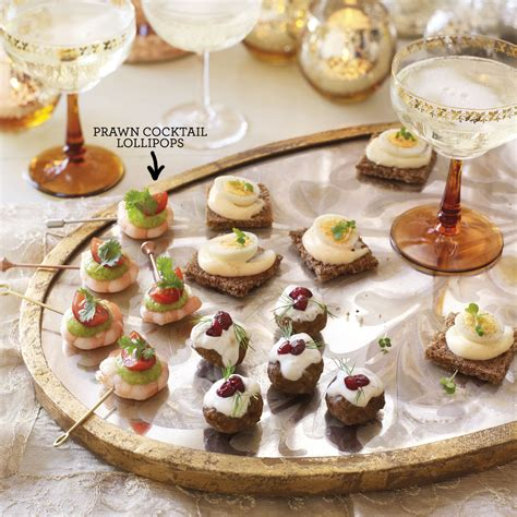 beautiful canapes recipes prawn cocktail lollipops housekeeping