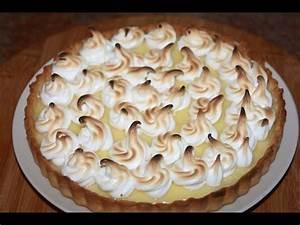 Recette Tarte Citron Meringuée Facile : recette tarte au citron meringu e lemon meringue pie recipe recettes maroc ~ Nature-et-papiers.com Idées de Décoration