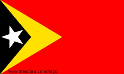 East Timor Flags geographic.org