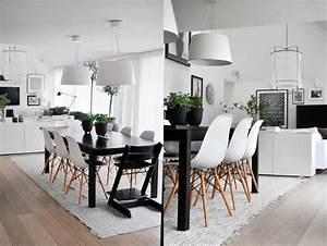 Table Et Chaises Scandinaves : design scandinave salle manger en 58 id es inspirantes ~ Teatrodelosmanantiales.com Idées de Décoration
