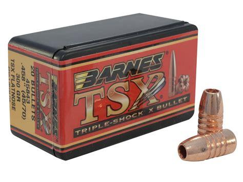 Barnes Triple-shock X (tsx) Bullets 45-70 Cal (458