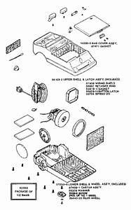 Eureka 3860a Rally Vacuum Factory Parts Diagrams And