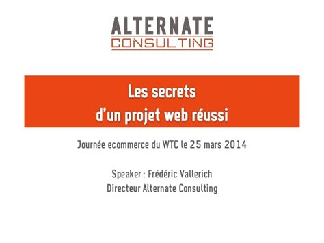 Les Secrets D'un Projet Web Réussi
