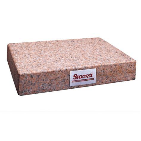 starrett 80604 12 x 12 x 4 granite surface plate no ledge