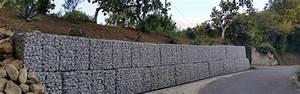 Mur De Soutenement En Gabion : gabion a vendre pour cl ture et mur de sout nement la ~ Melissatoandfro.com Idées de Décoration
