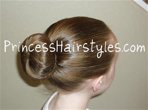 perfect ballet bun hairstyles  girls princess hairstyles