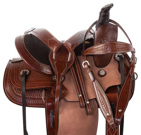 saddle tack western horse pony youth barrel leather pleasure