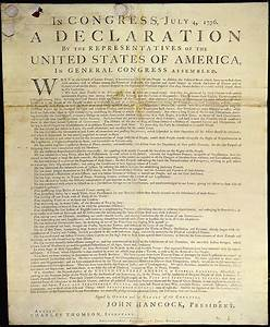 david baptiste chirot declaration of independence text With print large documents