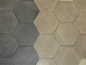 Carrelage Hexagonal Blanc : carrelage hexagonal sol et mur 15x15 cement durstone ~ Premium-room.com Idées de Décoration