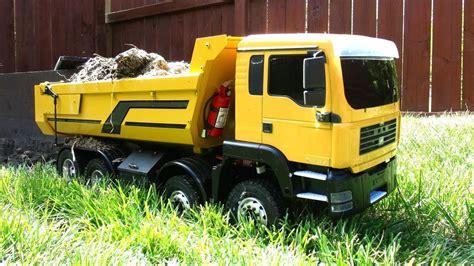 rc adventures fpv  scale earth digger xl excavator   armageddon dump truck