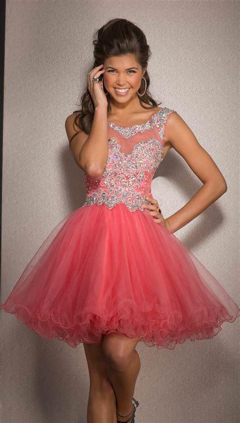 Clarisse Baby Doll Prom Dress 2546 | Promgirl.net