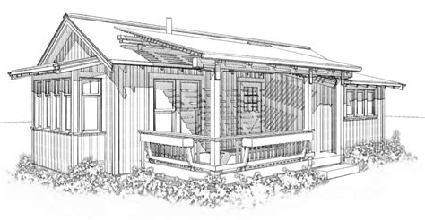 Drawn House Architectural Drawing