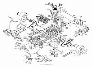 Dixon Ztr 4421  1994  Parts Diagram For Chassis Assembly