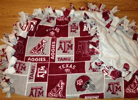 Diy Texas Aggies Fleece Tie Blanket Crochet Round Baby Blanket No Sew Polar Fleece Fire For Sale Easy Knitting Patterns Blankets And Beyond Swaddle Cat Toy Hexagon Patchwork Arizona Saddle Co