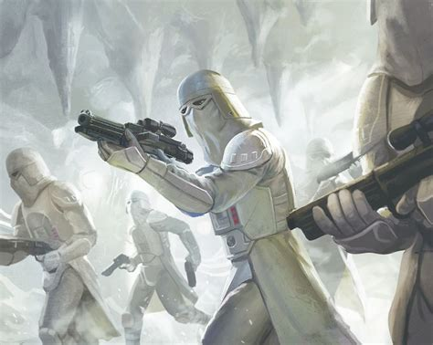 Snow Troopers by Erfian Asafat