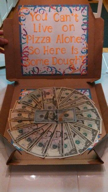 fun   give money   grad graduation pinterest