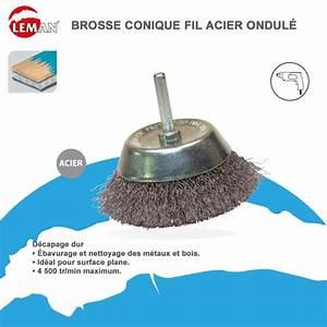 Brosse Métallique Pour Perceuse : brosse sur perceuse ~ Dailycaller-alerts.com Idées de Décoration
