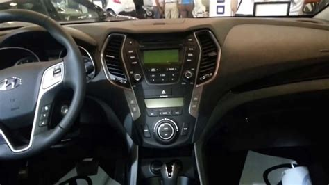 interior nueva hyundai santafe  version  colombia