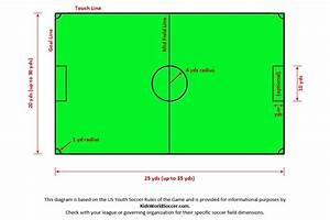 4v4 And 5v5 Youth Soccer Field Layout