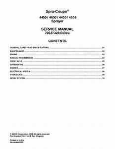 Agco Technical Publications  Spra