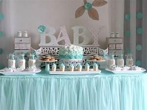 Baby shower garçon : une déco tout en bleu