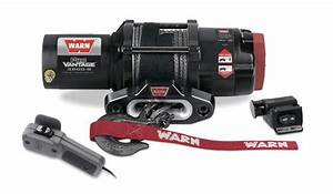 Warn 90351 Provantage 3500s Winch W  Synthetic Rope  Free