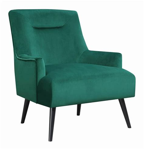 Living Room Chairs Prices by Mid Century Modern Green Accent Chair 904100 Living