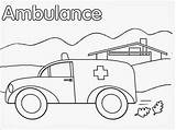 Ambulance Pages Coloring Realistic Printable Vehicle Hospital Template Preschool Getcolorings Nearest Carry Patient Currently Important Very Police Books Fire Sketch sketch template