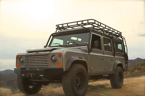 custom land rover icon reformer custom land rover nas110 defender youtube